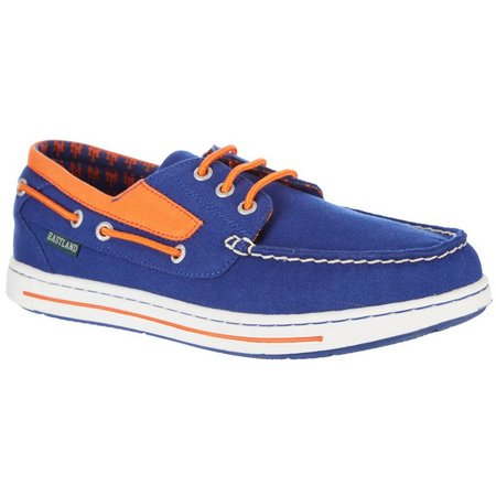New York Mets Mens Boat Shoes by Eastland