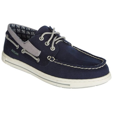 New York Yankees Mens Boat Shoes by Eastland