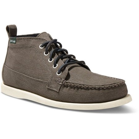 Eastland Mens Seneca Canvas Ankle Boots