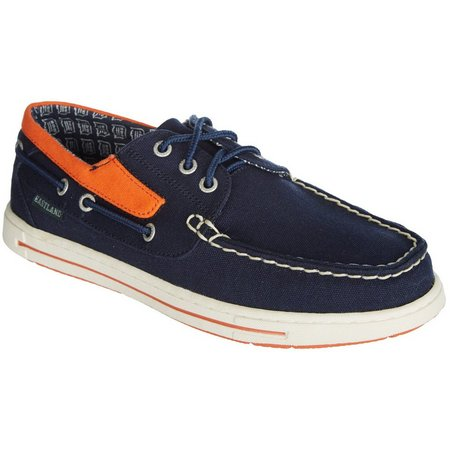 Detroit Tigers Mens Boat Shoes by Eastland