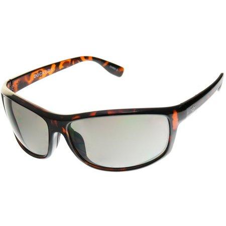 Dockers Womens Tortoise Shell Wrap Sunglasses