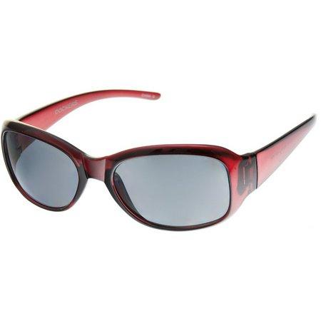 Dockers Womens Berry Pink Sunglasses