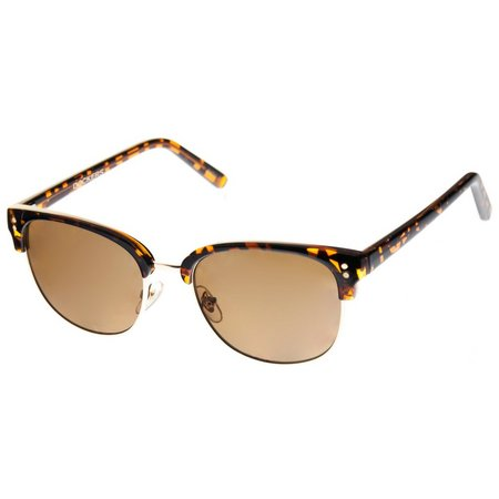 Dockers Womens Tortoise Brown Sunglasses