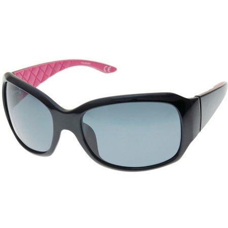 Reel Legends Womens Pink & Black Sunglasses