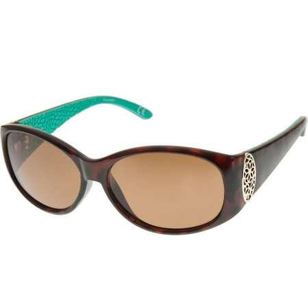 Reel Legends Womens Oval Billard Sunglasses
