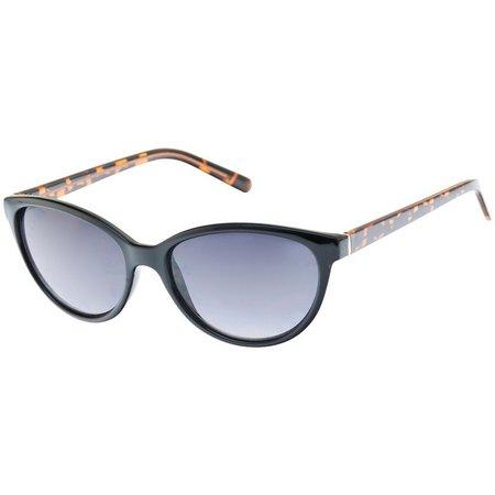 Dockers Womens Tortoise Brown & Black Sunglasses