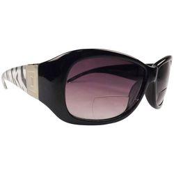 Infini Womens Brown Classic Sun Reading Glasses