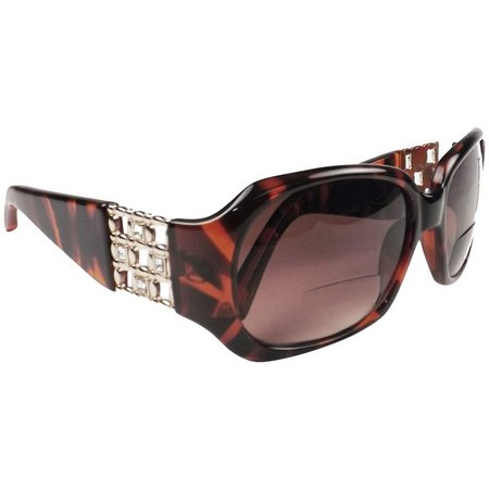Infini Womens Rocco Tortoise Sun Reading Glasses