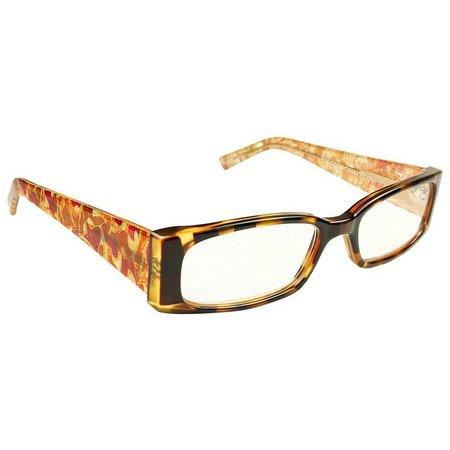 Infini Womens Brown Multi Reading Glasses