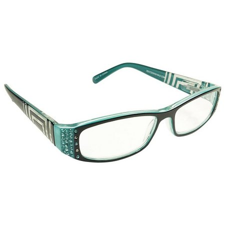 Infini Womens Rectangle Reading Glasses
