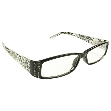 Infini Womens Leopard Print Reading Glasses