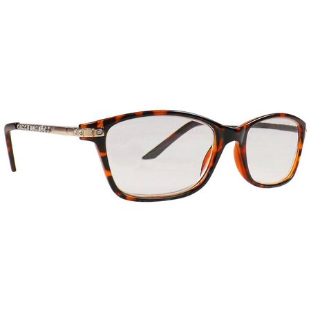 Infini Womens Tortoise Brown Reading Glasses