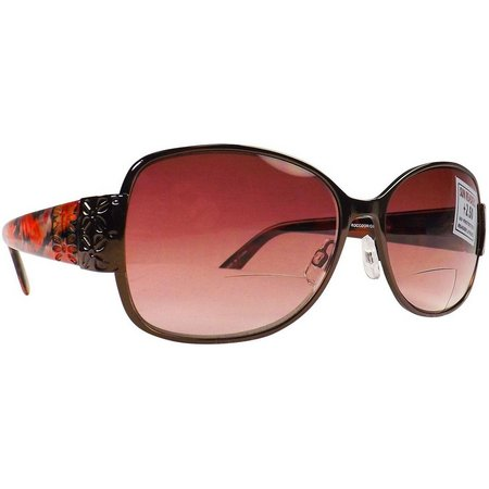 Infini Womens Floral Sun Reading Glasses