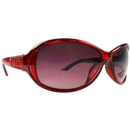 Infini Womens Red Sun Reading Glasses