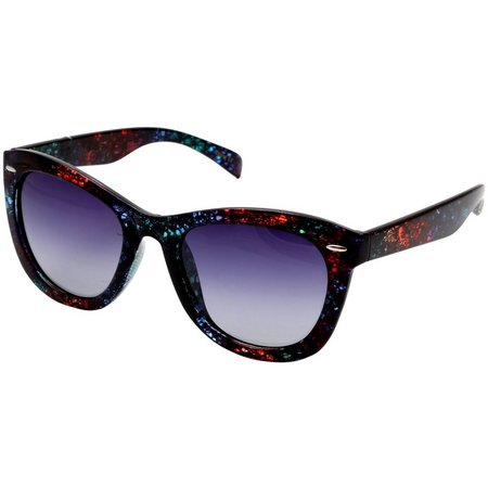 Betsey Johnson Womens Multi Color Sunglasses
