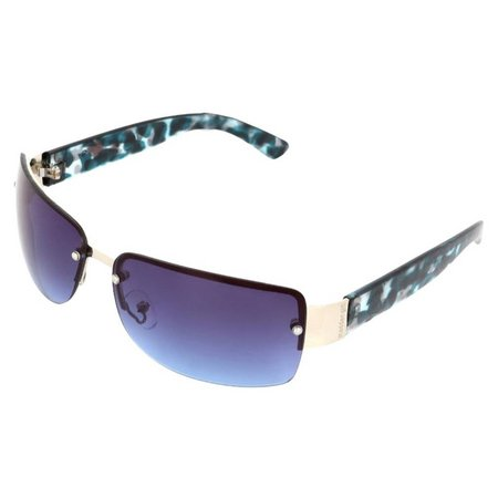 Madden Girl Womens Pink Floral Print Sunglasses