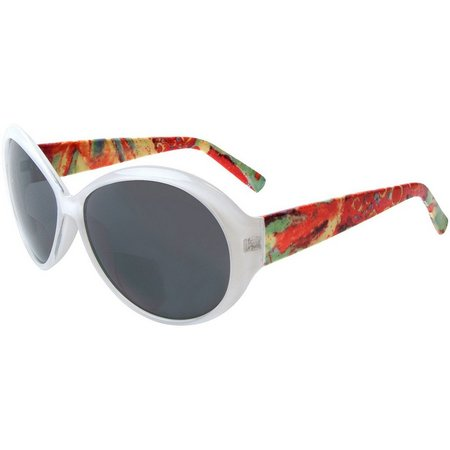 Leoma Lovegrove Womens Mermaid White Sunglasses