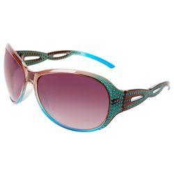 Zoo York Womens Multicolor Glitz Twist Sunglasses