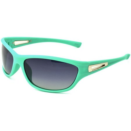 Reel Legends Womens Aqua Green Sunglasses
