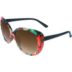 ICON Womens Smoke Black Multi Sunglasses