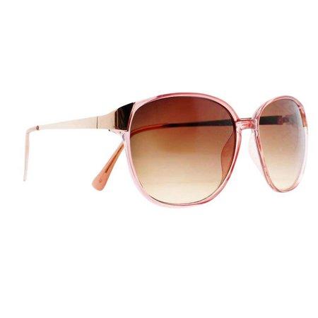 Caribbean Joe Womens Pink Sunglasses