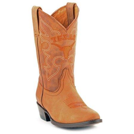 Gameday Texas Longhorns Boys Cowboy Boots
