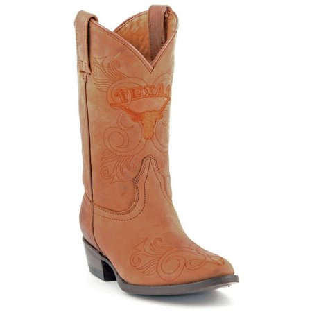 Gameday Texas Longhorns Girls Cowboy Boots