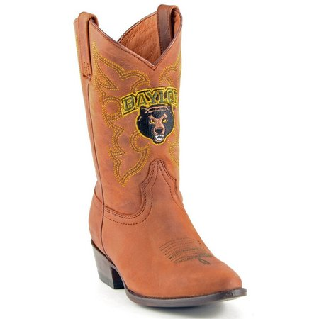 Gameday Baylor Bears Boys Cowboys Boots