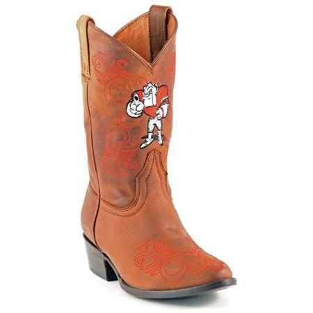 Gameday Georgia Bulldogs Girls Cowboy Boots
