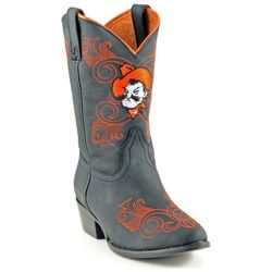 Gameday Oklahoma State Girls Cowboy Boots