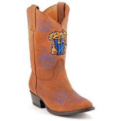 Gameday Kentucky Wildcats Girls Cowboys Boots