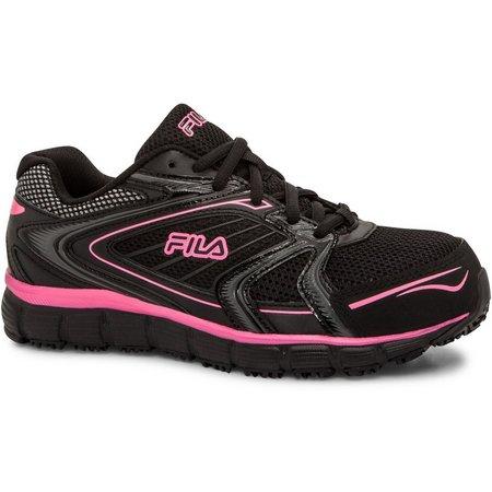 Fila Womens Memory Reckoning 7 Work Shoes