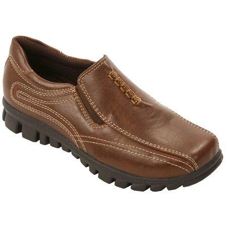 Deer Stags Boys Stadium Slip On Shoes