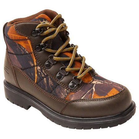 Deer Stags Boys Hunt Lace-up Boots