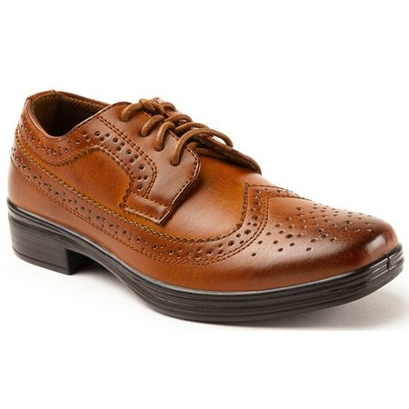 Deer Stags Boys Ace Dress Shoes