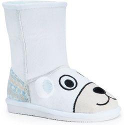MUK LUKS Little Girls Snowball Polar Bear Boots