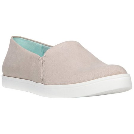 Dr. Scholl's Womens Taupe Repeat Slip On Shoes