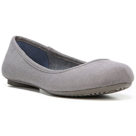 Dr. Scholl's Womens Friendly Sueded Flats