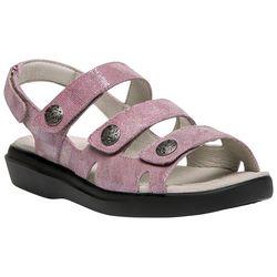 Propet Womens Bahama Foil Sandals