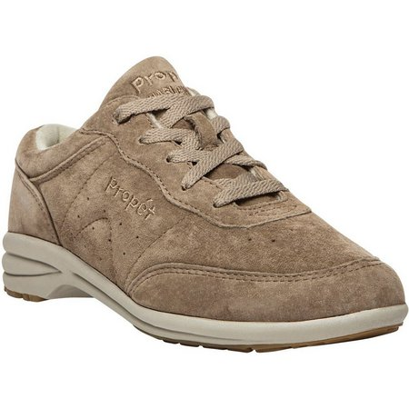 Propet USA Womens Suede Washable Walker Shoes
