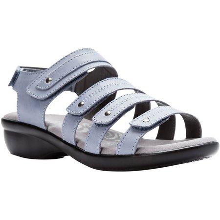 Propet USA Womens Aurora Wedge Sandals