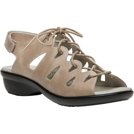 Propet USA Womens Amelia Lace Up Sandals