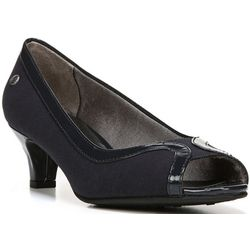 LifeStride Womens Lanessa Peep Toe Pumps