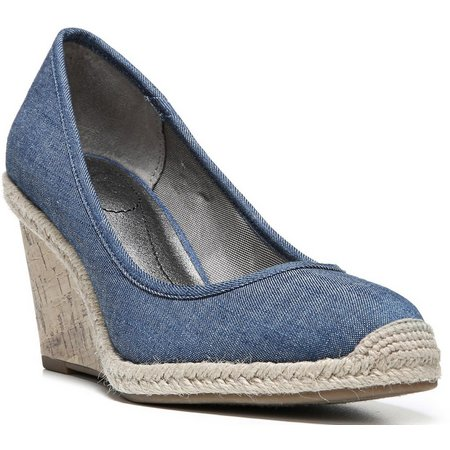 LifeStride Womens Listed Espadrille Wedges