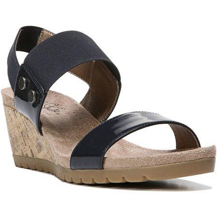 LifeStride Womens Notify Wedge Sandals