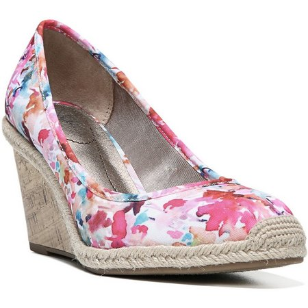 LifeStride Womens Listed Wedge Espadrilles