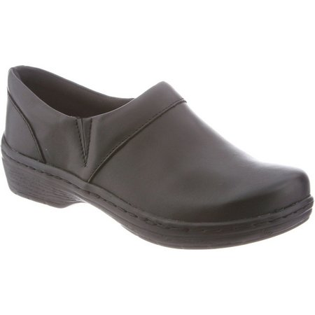 KLOGS Footwear Womens Mission Black Slip On Shoes