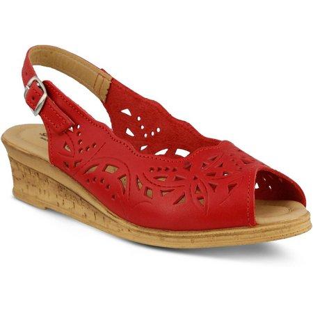 Spring Step Orella Leather Sling Back Sandal