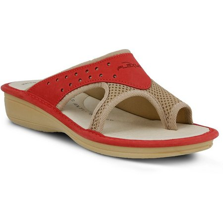 Spring Step Womens Pascalle Toe Loop Sandals