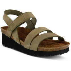 Spring Step Sky Womens Nubuck Strappy Sandals